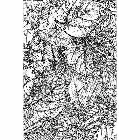 Sizzix 3-D Texture Fades kohokuviointikansio Foliage