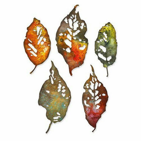 Sizzix Thinlits stanssisetti Leaf Fragments