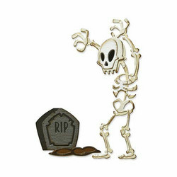 Sizzix Thinlits stanssisetti Mr. Bones, Colorize