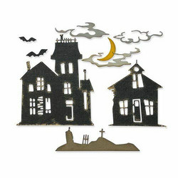 Sizzix Thinlits stanssisetti Ghost Town #2