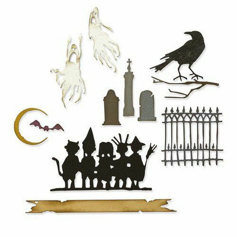 Sizzix Thinlits stanssisetti Vault Series: Halloween