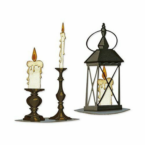 Sizzix Thinlits stanssi Candlelight, Colorize