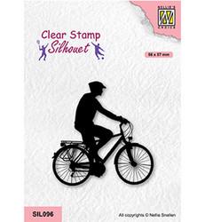 Nellie's Choice Silhouet leimasin Cycling