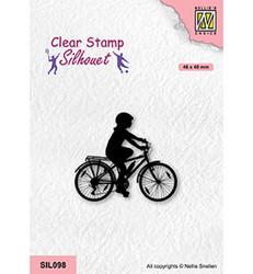 Nellie's Choice Silhouet leimasin Cycling 2