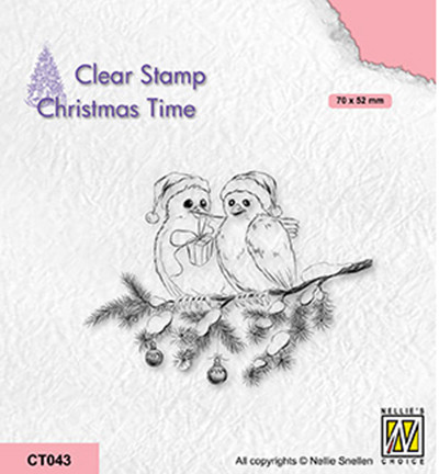 Nellie's Choice Christmas Time leimasin Celebrating Christmas