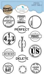 Elizabeth Craft Designs leimasin Circle Labels