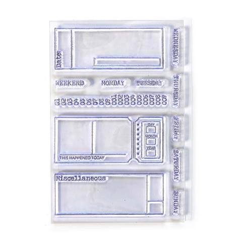 Elizabeth Craft Designs leimasin Sidekick Stamps 2