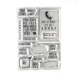 Elizabeth Craft Designs leimasin Phonebooth Special