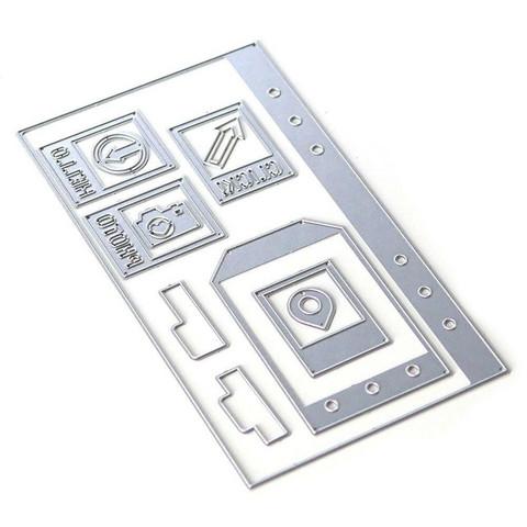 Elizabeth Craft Designs stanssi Planner Essentials 4