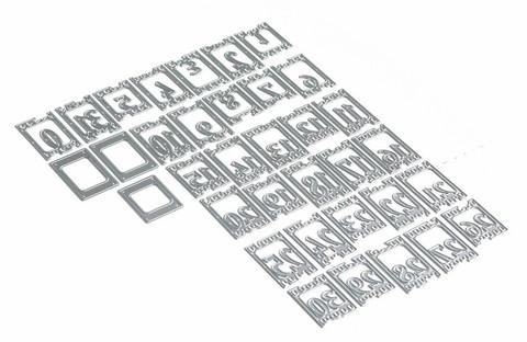 Elizabeth Craft Designs stanssi Planner Essentials 17, Filmstrip Numbers