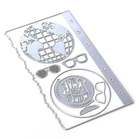 Elizabeth Craft Designs stanssi Planner Essentials 28, Globe