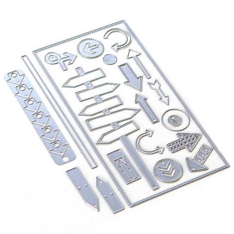 Elizabeth Craft Designs stanssi Planner Essentials 29, Directions