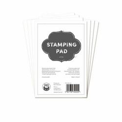 P13 paperipakkaus Stamping Pad, valkoinen, 4
