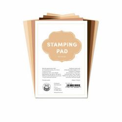 P13 paperipakkaus Stamping Pad, Skin Tones, 4