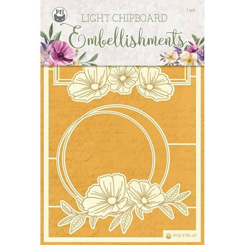 P13 Light Chipboard -koristeet Time To Relax