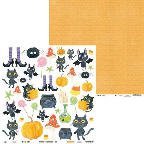 P13 skräppipaperi Happy Halloween 02