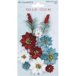 49 and Market Peace and Joy paperikukat Festive Mix