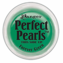 Perfect Pearls -pigmenttijauhe, sävy Forever Green