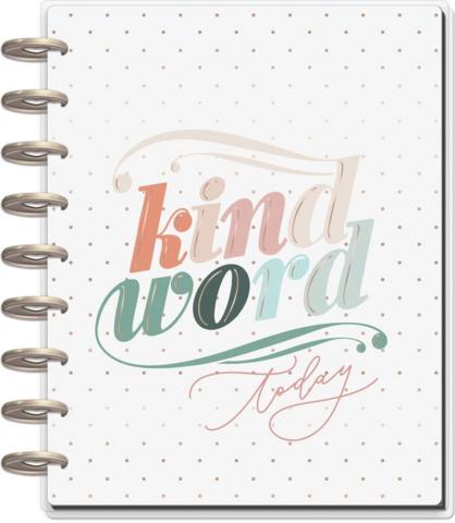 Mambi Deluxe Classic Planner -kalenteri, Kind Words, 12 kk päivätty