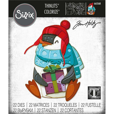 Sizzix Thinlits stanssi Eugene, Colorize