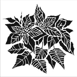 Crafter's Workshop sapluuna Poinsettia