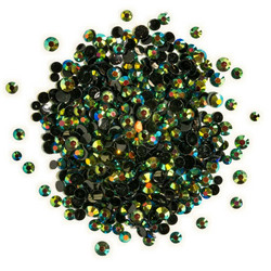 Buttons Galore Jewelz -tekokristallit, Jet AB