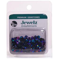 Buttons Galore Jewelz -tekokristallit, Rainbow