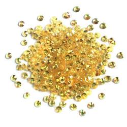 Buttons Galore Jewelz -tekokristallit, Topaz