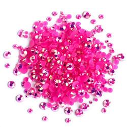 Buttons Galore Jewelz -tekokristallit, Rose