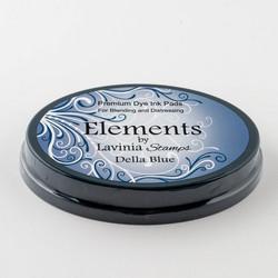 Lavinia Elements Premium Dye Ink -mustetyyny, sävy Della Blue