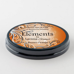 Lavinia Elements Premium Dye Ink -mustetyyny, sävy Russet Orange