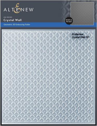 Altenew 3D kohokuviointikansio Crystal Wall