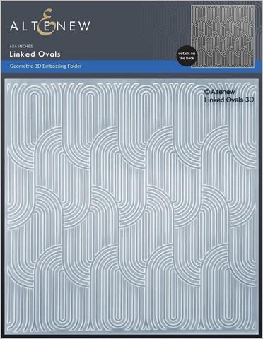 Altenew 3D kohokuviointikansio Linked Ovals