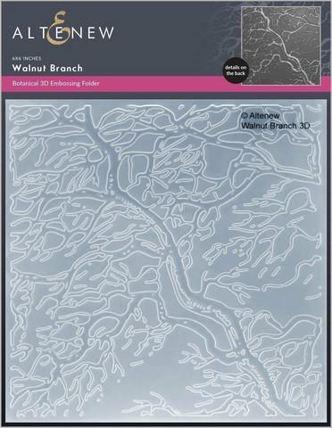 Altenew 3D kohokuviointikansio Walnut Branch