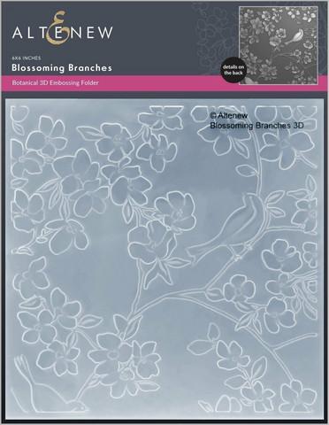 Altenew 3D kohokuviointikansio Blossoming Branches