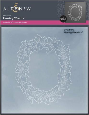 Altenew 3D kohokuviointikansio Flowing Wreath