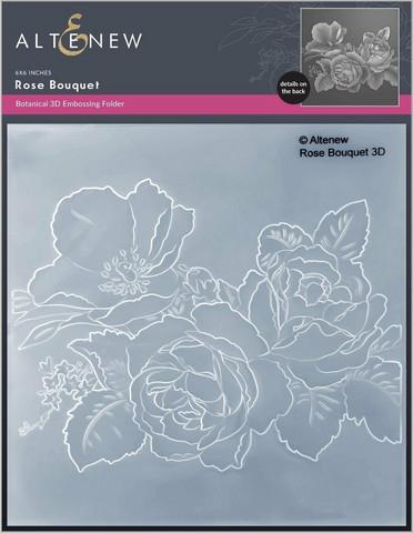 Altenew 3D kohokuviointikansio Rose Bouquet