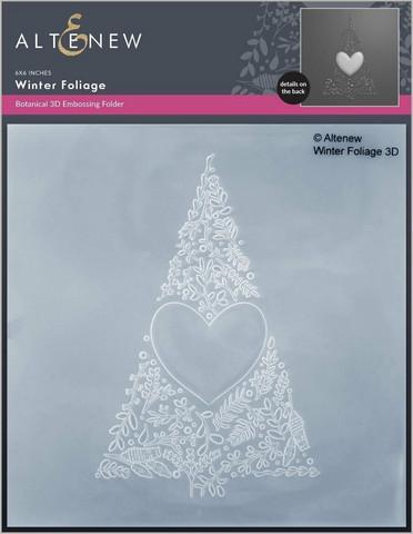 Altenew 3D kohokuviointikansio Winter Foliage