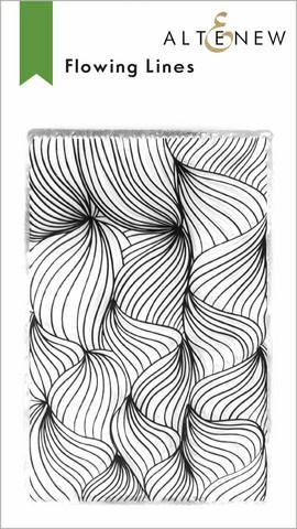 Altenew Flowing Lines -leimasin