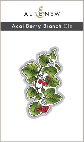 Altenew Acai Berry Branch -stanssi