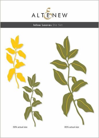 Altenew Inline Leaves -stanssi
