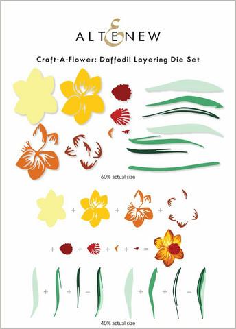 Altenew Craft-A-Flower: Daffodil -stanssisetti