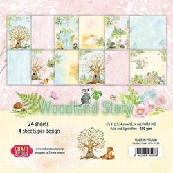Craft & You paperipakkaus Woodland Story