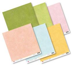 Craft & You paperipakkaus Base, Pastel, 12