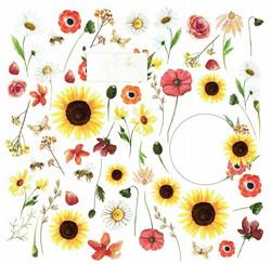 Craft & You skräppipaperi Blossom Meadow 07