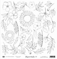 Craft & You skräppipaperi Blossom Meadow 09
