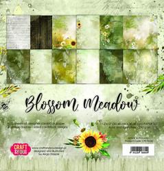 Craft & You paperipakkaus Blossom Meadow, 12