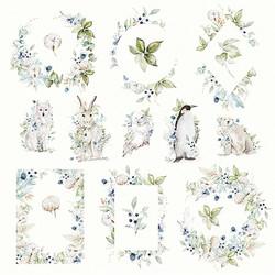 Craft & You skräppipaperi Arctic Winter 07