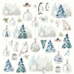Craft & You skräppipaperi Arctic Winter 09