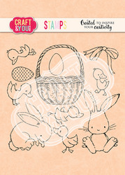Craft & You leimasin Easter 2